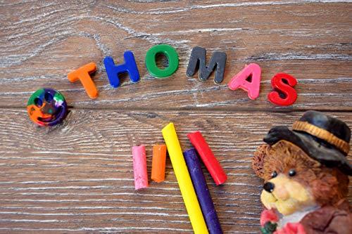 Mini Buntstifte personalisierte Brief Name Geburtstag Baby gefallen