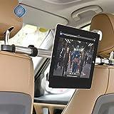 OPEN BUY Soporte Universal Tablet iPad DVD para Compartir Zona Trasera del Coche Autocaravana Caravana Giratorio 360 º Soporte de Seguridad instalacion en Segundos