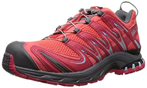 Salomon - Xa Pro 3D, Scarpe Da Trail Running da donna Rosso (Rot (Papaya-B/Lotus Pink/Air))