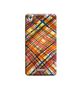 Ebby 3d printed back case cover for Lava Pixel V1(Premium Designer Case)
