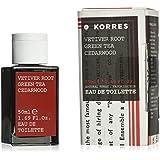 KORRES Vetiver Root, Green Tea and Cedarwood Eau de Toilette 50 ml