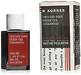 Korres Vetiver Root/Green Tea/Cedarwood Eau de Toilette für Ihn, 50ml
