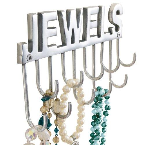 Joyero-con-ganchos-de-pared-y-letras-Jewels-para-collares-y-joyas-metal-aprox-ancho-20-x-fondo-4-x-altura-12-cm