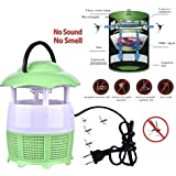 Japp Electronic LED Mosquito Killer Lamp Household Trap Eco-Friendly Photocatalyst (Color May Vary)