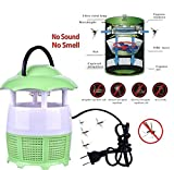 #10: Japp Electronic LED Mosquito Killer Lamp Household Trap Eco-Friendly Photocatalyst (Color May Vary)