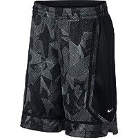 Nike Kyrie M NK Dry Elite Short Shorts de Baloncesto Hombre, Anthracite/Black/White L