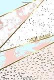 Bullet Journal: Marble + Gold Designer Bullet Journal | Dot Grid Journal: Volume 1 (Pretty Bullet Journals)
