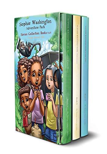 Sophie Washington Adventure Pack: Books (5, 6, and 8) Hurricane, Mission: Costa Rica, Code One (English Edition) (Girls Hurricane Die)