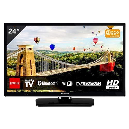 Hitachi 24he2000 Televisor 24'' LCD Direct LED HD Ready 400hz Smart TV WiFi