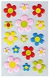 Bestlivings Fröhlich Bunte Sticker Zum Aufkleben, Stickerbögen mit Blumen, in Vielen Verschiedenen Motiven verfügbar (Design: Blumen 7)