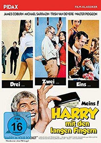 Harry mit den langen Fingern (Harry in your Pocket) / Turbulente Gaunerkomödie mit James Coburn und Michael Sarrazin (Pidax Fil