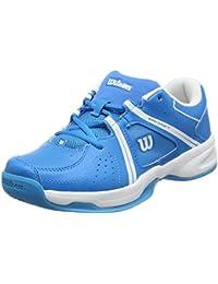 Wilson Envy Jr Bl/Wh - Chaussures de Tennis - Mixte Enfant