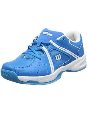 Wilson Unisex-Kinder Envy Jr Bl/Wh Tennisschuhe