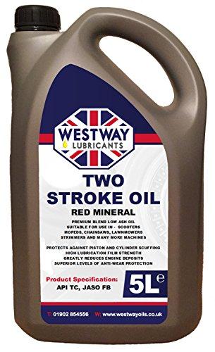 Westway Lubricants 5 Litre 2-Stroke Oil Two Stroke Oil 5L