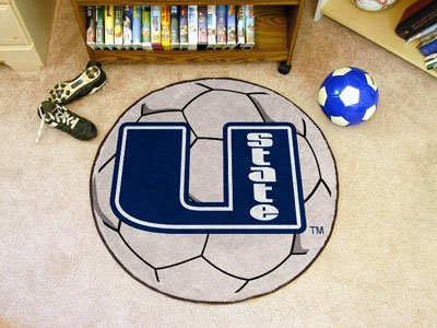 Fanmats 02530 Utah State University Fu-ball Rug Utah State University