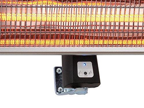 Traedgard® Infrarot-Heizstrahler Helgoland bis 1800 Watt mit Fernbedienung, 65 cm breit 64555 - 3
