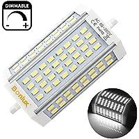 Bonlux LED 30W dimmerabile R7s lineare del tubo 118mm bianco freddo 6000K 200 gradi LED luminoso eccellente J Tipo J118 R7s Proiettore la sostituzione della lampada 300W alogena (senza ventola)