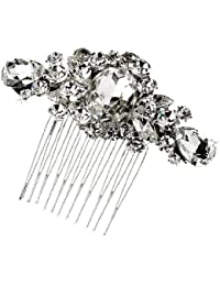 SEXYHER Classical Crystal Hair Comb - 3002SNCR