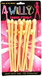 Hen Night Sipping Willy Straws (10 in a Pack)