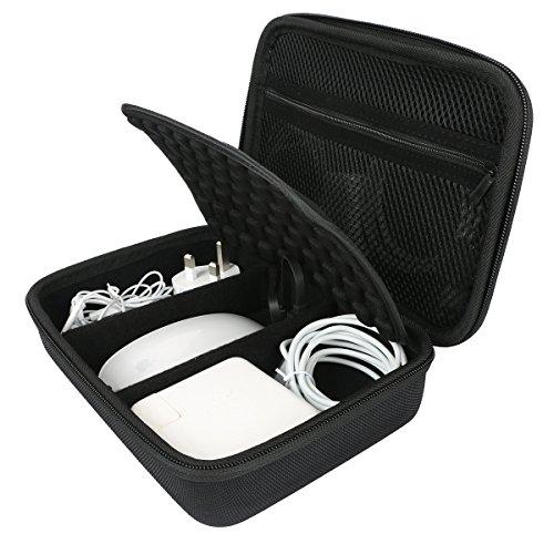 Per Apple matita Magic, mouse, alimentatore MagSafe, cavo di ricarica magnetico duro di trasporto borsa da viaggio copertura di Khanka