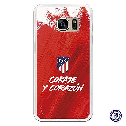 Atlético de Madrid Carcasa Coraje y Corazón para Samsung Galaxy S7