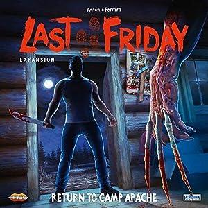 Asmodee Italia - Last Friday expansión Regreso al Campo Apache Juego de Mesa en Italiano Pendragon Games Studio, Color, 0471