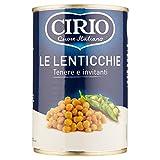 Cirio - Lenticchie, Tenere e invitanti - 12 pezzi da 410 g [4920 g]