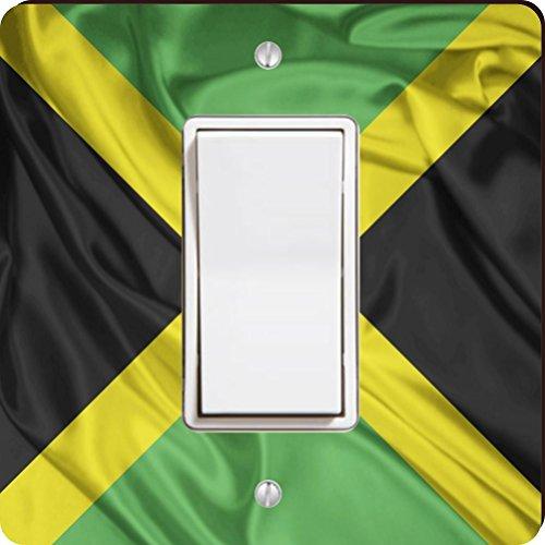 Kingston Rocker (Rikki Knight Jamaika Flagge Single Wippe Licht Teller)