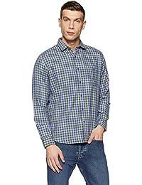 Van Heusen Sport Men's Plain Slim Fit Cotton Casual Shirt - B079L42PHP