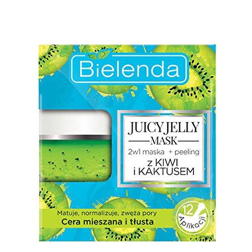Bielenda Juicy Jellly Mask 2 1 Limpiador exfoliante
