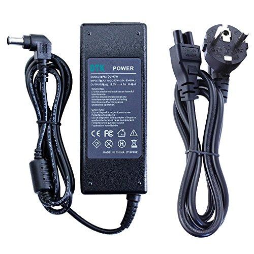 DTK® Notebook Laptop-Ladegerät AC-Netzteil für SONY 19,5V 4,7A; Stecker 6,5MM*4,4MM; ( kompatibel mit allen SONY 19.5V 4.7A 90W ; 19.5V 4.35A 85W ; 19.5V 3.9A 76W ; 19.5V 3.3A 65W)