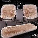 LPY-Coperte calde Universali del sedile dell'automobile di 100% di pecora genuina , camel color