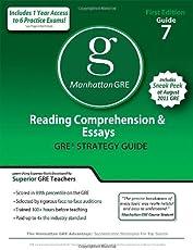 Reading Comprehension & Essays GRE Preparation Guide, 1st Edition (Manhattan GRE Preparation Guide: Reading Comprehension & Essays)