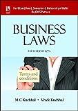 Business Laws for B. Com. (Hons), Sem-I, University of Delhi