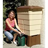 Regentonne eckig Sahara 520 Liter sandbeige GARANTIA 501208
