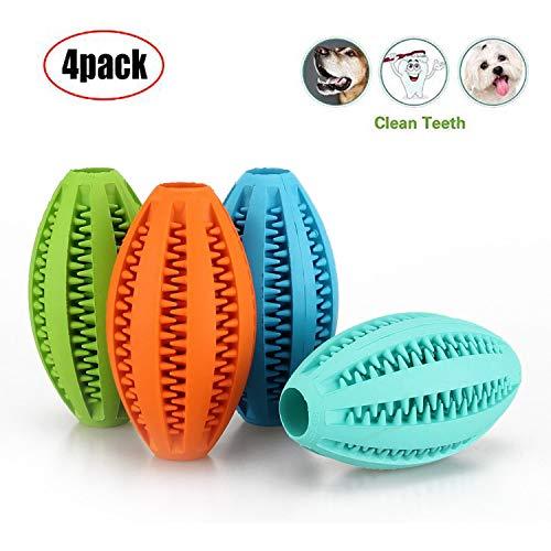 ACLBB Masticar Mascotas Ball Juguete de Goma Squeeze Pet...