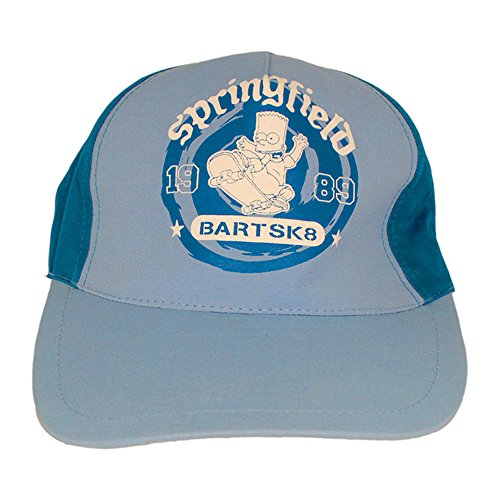 The Simpsons - Casquette de Baseball - Homme bleu bleu clair Taille Unique