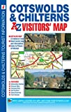 Cotswolds and Chilterns Visitors' Map (A-Z Road Maps & Atlases)