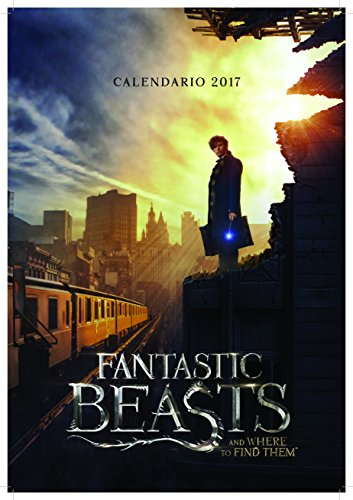 Calendario 2017 29X42 cm Fantastic Beasts And Where To Find Them