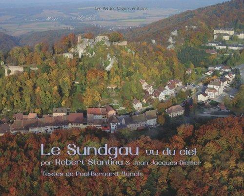Le Sundgau et le Jura alsacien vus du ciel