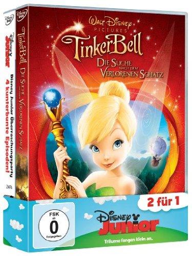 Die Suche nach dem verlorenen Schatz / Disney Junior Überraschungsparty (2 DVDs)