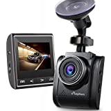"""Dash Cam, ELEPHAS 2.4"""" HD In Car Camera DVR with 170° Wide Angle 1080P, G-Sensor, Loop Recording, WDR, Night Vision Car Driving Recorder Vehicle Backup Dashboard Camera"""