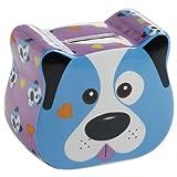 Maxwell & Williams BE0411 Tickle Critters Spardose, klein, Hund, in Geschenkbox, Porzellan