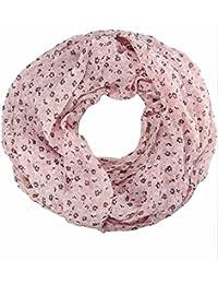 caripe leichter Damen Loop Schal Schlauchschal Blumen Paisley - pt555