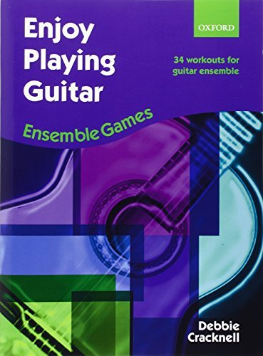 Enjoy Playing Guitar: Ensemble Games: 34 workouts for guitar ensemble by Unknown(2010-04-08)