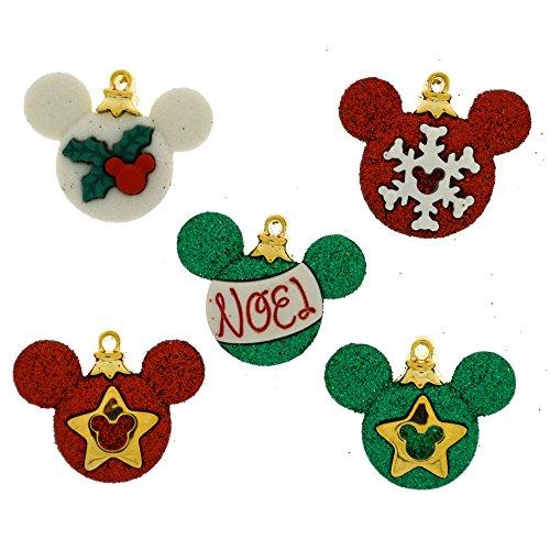 Disney Mickey Ornaments-Neuheit Craft Tasten & Verzierungen von Kleid IT UP
