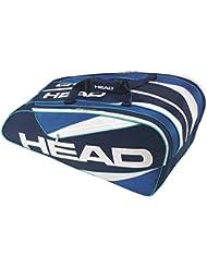 Head Elite Monstercombi–Funda para palos, color Azul - azul, tamaño 70 x 50 x 10 cm, 0.4 Liter