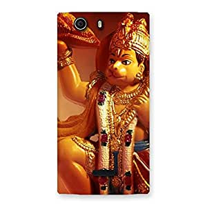 Lord Hanuman Multicolor Back Case Cover for Canvas Nitro 2 E311