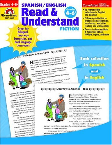 Spanish/English Read & Understand Fiction, Grades 4-6+