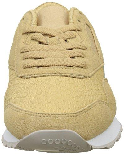 Reebok Mens Cl In Nylon Rs Sneakers, Beige Beige (beige / Gesso / Bianco / Sabbia Pietra)